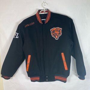 NFL Chicago Bears Varsity Jacket Size Medium